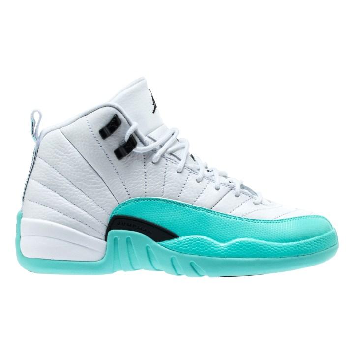 White Retro: Check Out This 'Light Aqua' Air Jordan 12 Retro