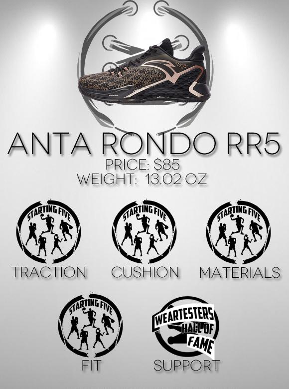 Anta Rondo RR5 Performance Review score