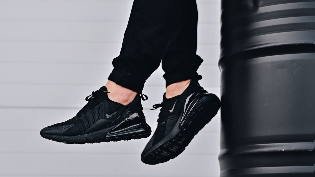 The Nike Air Max 270  Triple Black  is Available Now - WearTesters abb09fd34