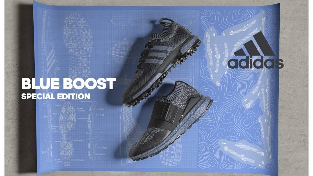 3ff184b432ec33 adidas Golf is Bringing Limited Edition Blue Boost to its Golf ...