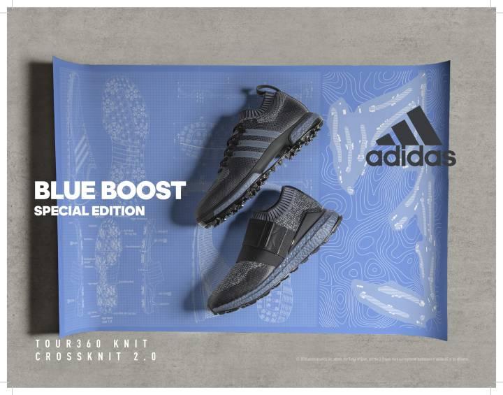 cheap for discount 128ac ae924 adidas Blue Boost 1