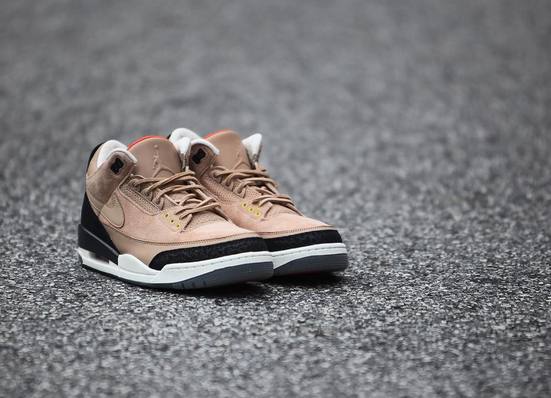 573285311ad96c air jordan 3 bio beige justin timberlake detailed look - WearTesters