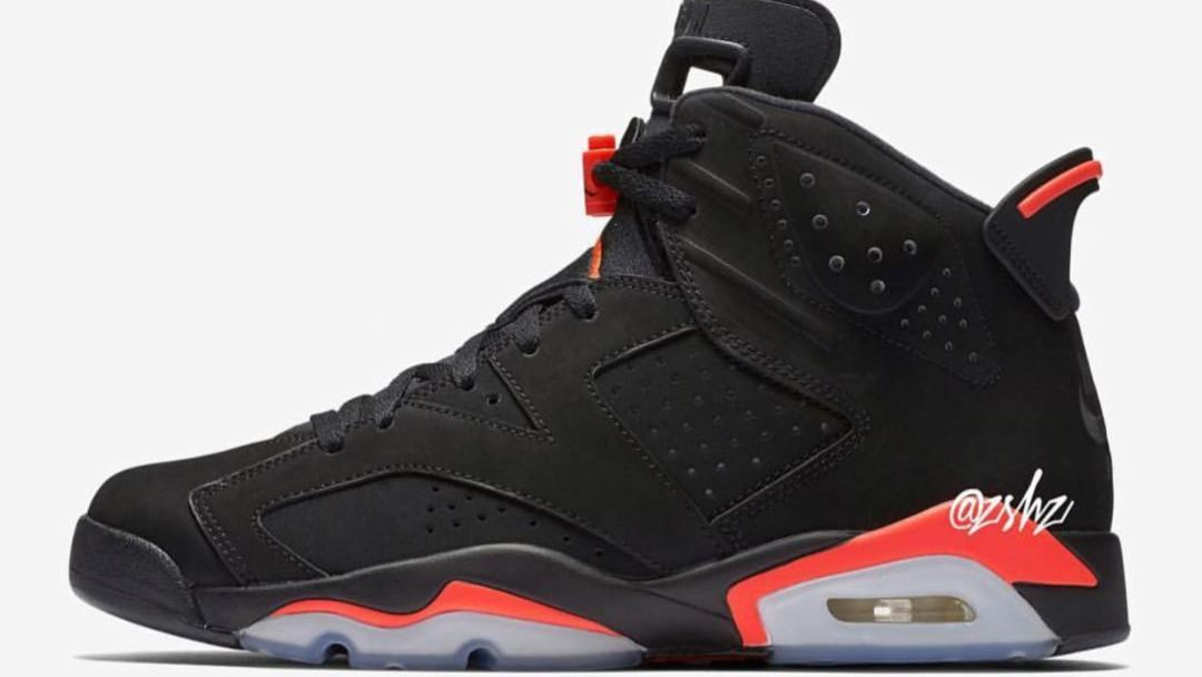 a609a566e89f96 The 2019 Air Jordan 6  Black Infrared  Will Release for All-Star ...