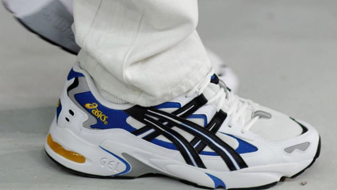 asics gel kayano 5 on foot