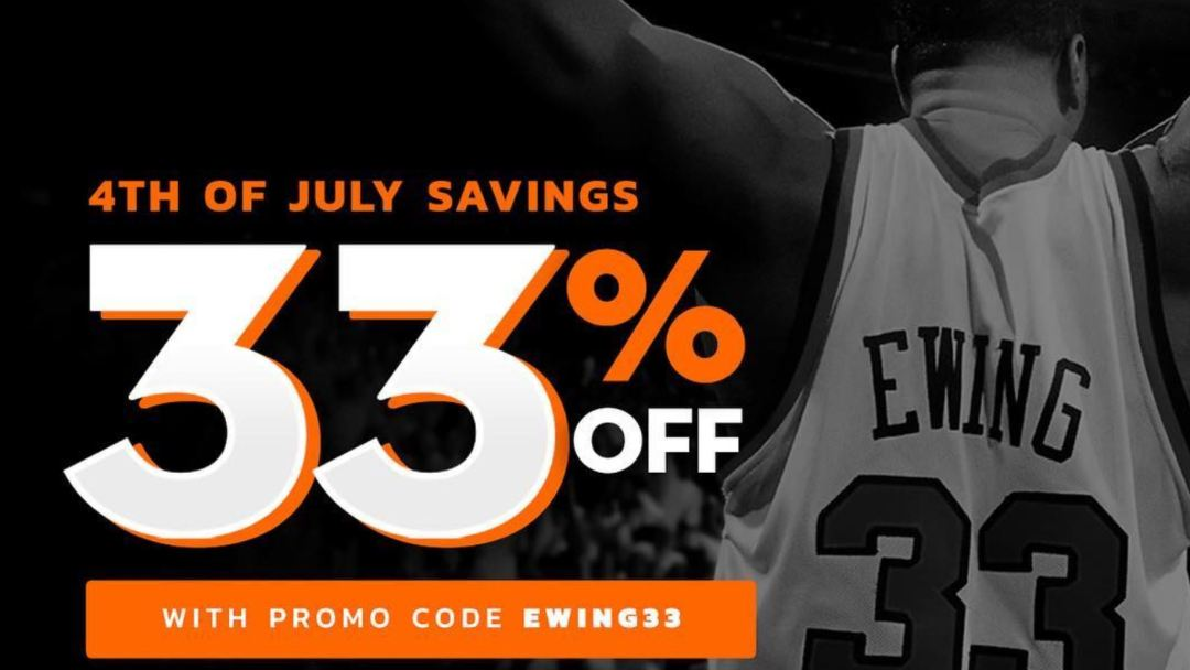 ewing fourth of july sale
