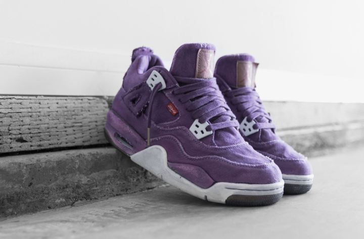 5b4a539f8cfebd Exclusive  Jennizerr s Levi s x Air Jordan 4 Custom Will Make You ...