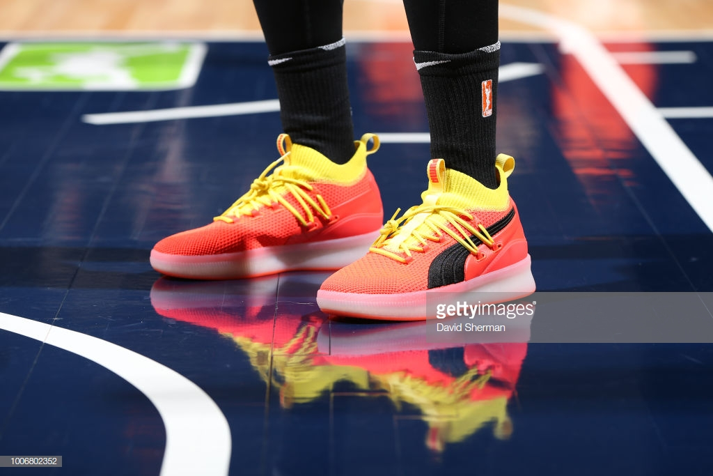 puma clyde court disrupt Skylar Diggins-Smith - WearTesters b2be54f7d
