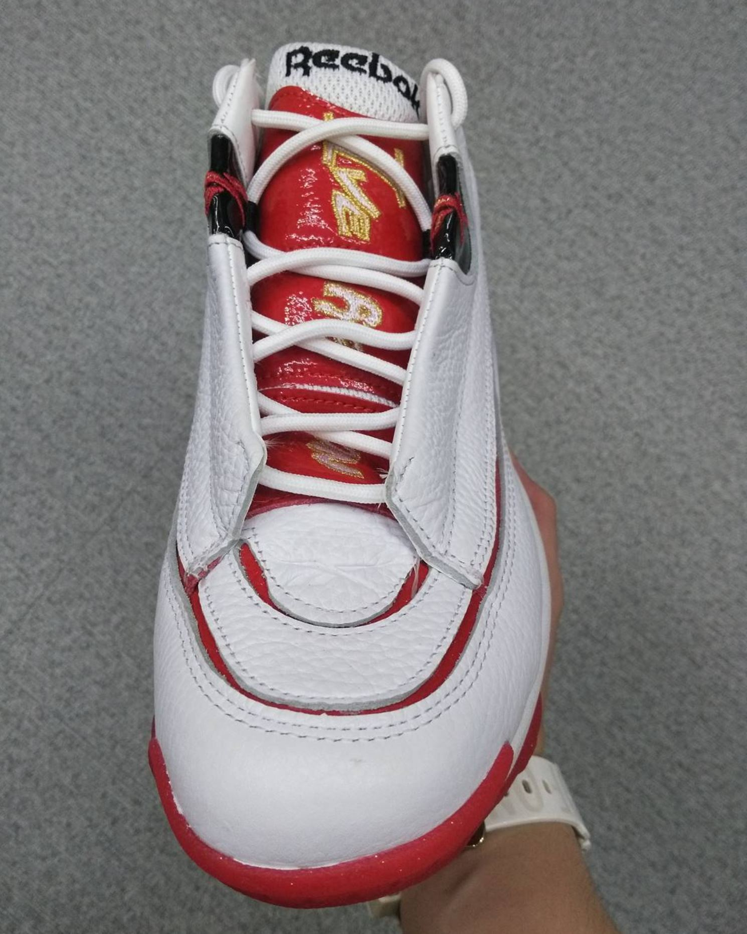 45d4865ac50 reebok answer 1 white red retro - WearTesters