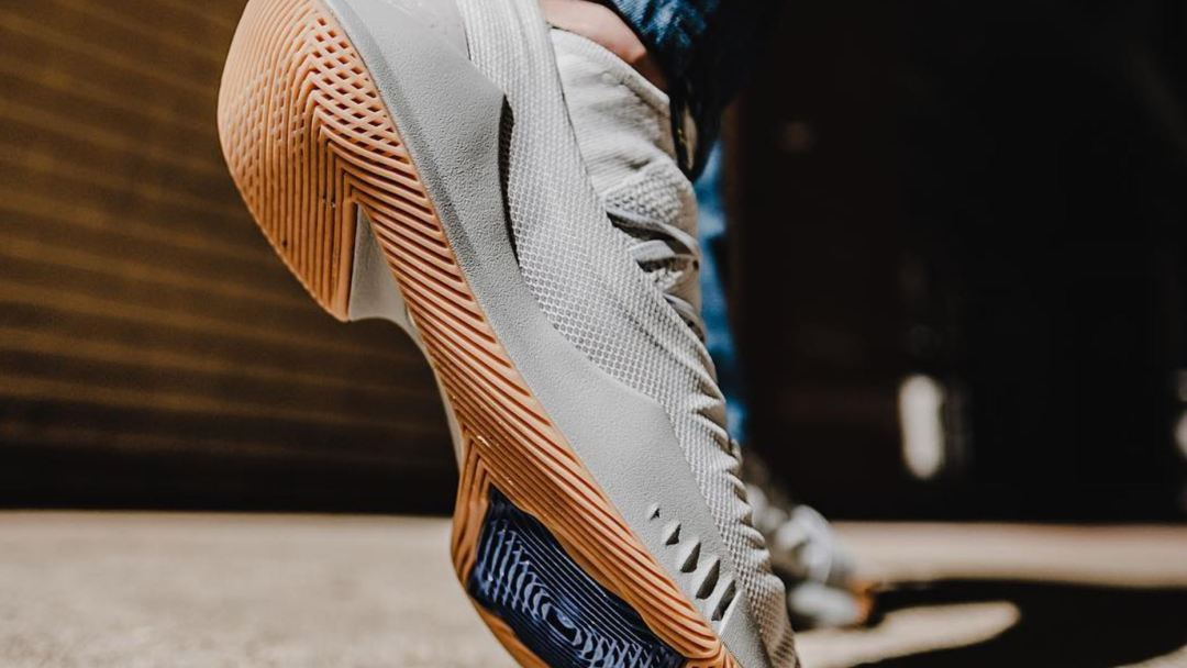 under armour curry 5 grey gum
