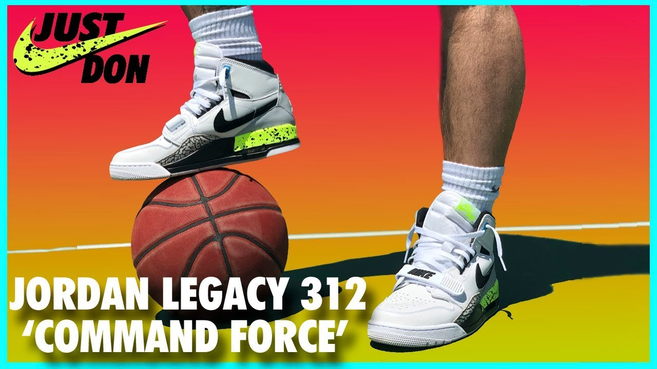 size 40 51ed3 d011a Air Jordan Legacy 312  Command Force    Detailed Look and Review ...