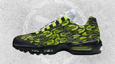 NIKE AIR MAX 95 BLACK-VOLT-WHITE FEATURED IMAGE