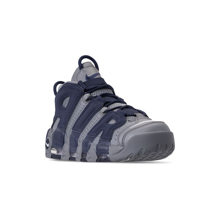 NIKE AIR MORE UPTEMPO '96 COOL GREY:WHITE-MIDNIGHT NAVY 1