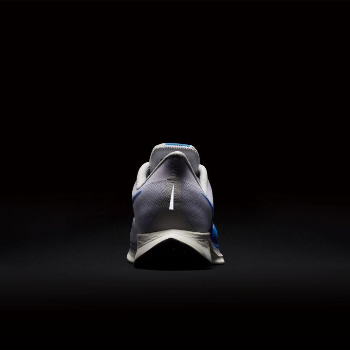 NIKE ZOOM PEGASUS TURBO WHITE:BLUE HERO-VAST GREY-BLUE 7