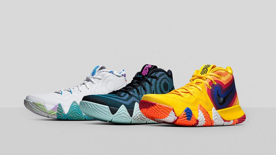 ba28df1ab8ae Nike Unveils Kyrie 4 Decades Pack to Celebrate the  70s