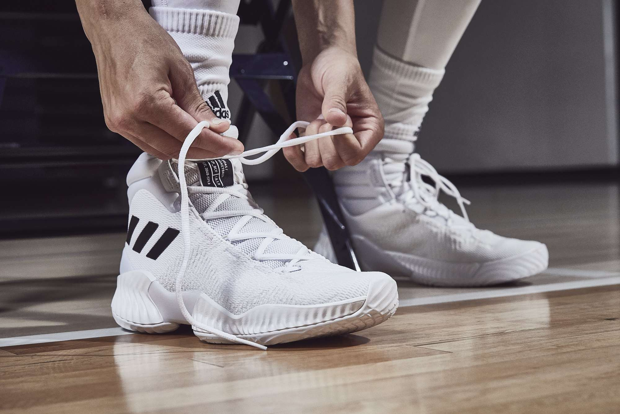 adidas Unveils New Basketball Sneakers 83919d294