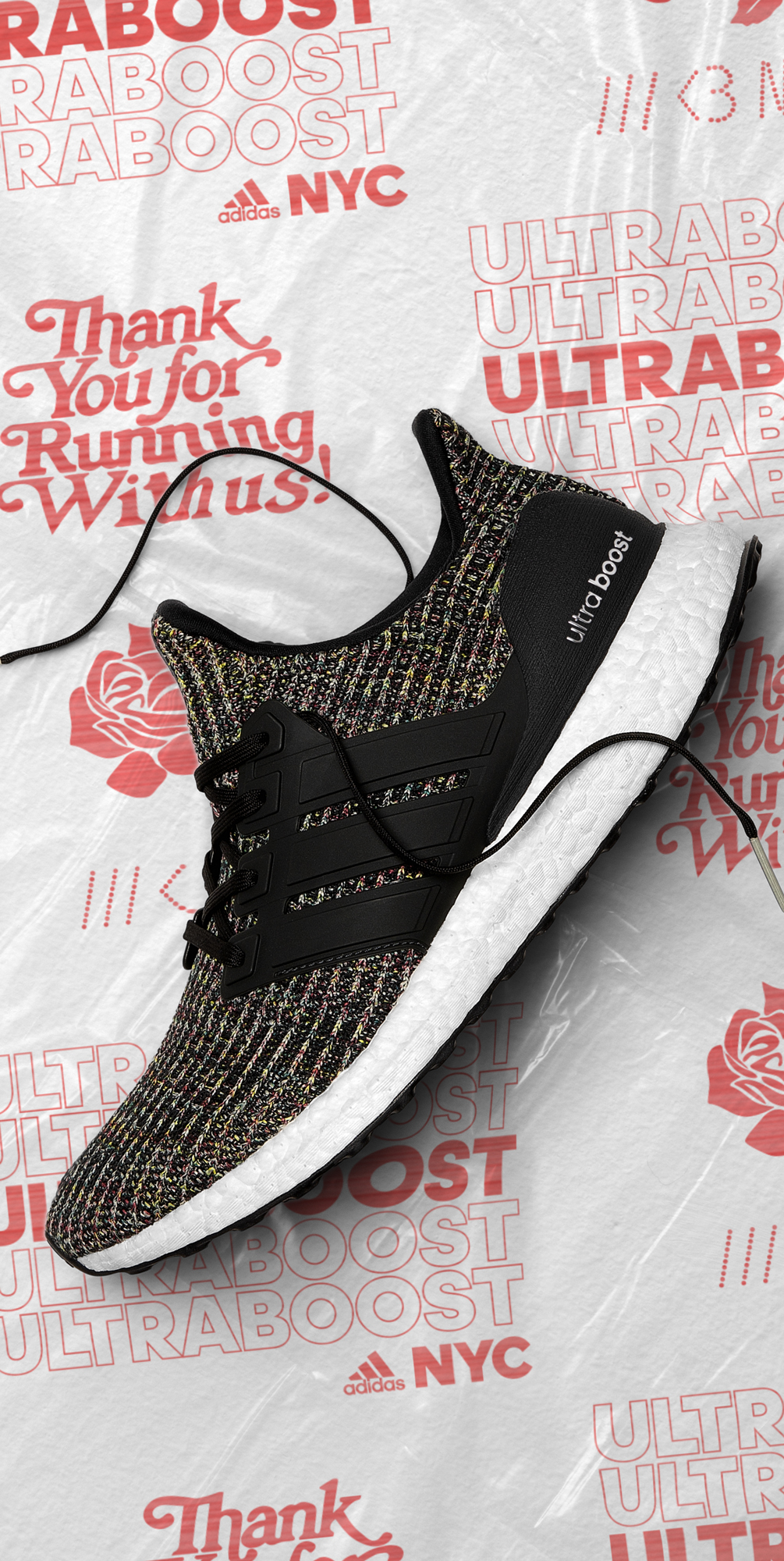 Ultra Boost 40 Black Multicolor Nyc Bodegas | Unixpaint