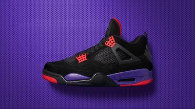 air jordan 4 black court purple release date