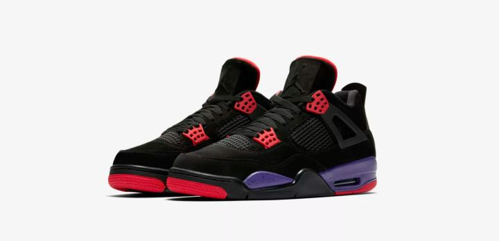 air jordan 4 black court purple