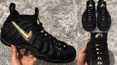 72da930b9d7 New Air Foamposite Pro  Black Metallic Gold  Leaks Ahead of Release Date