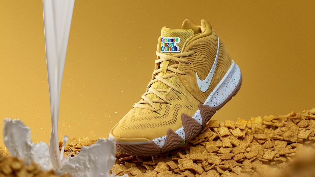 Nike Unveils Kyrie 4  Cereal Pack  with Lucky Charms 7a66f1a82
