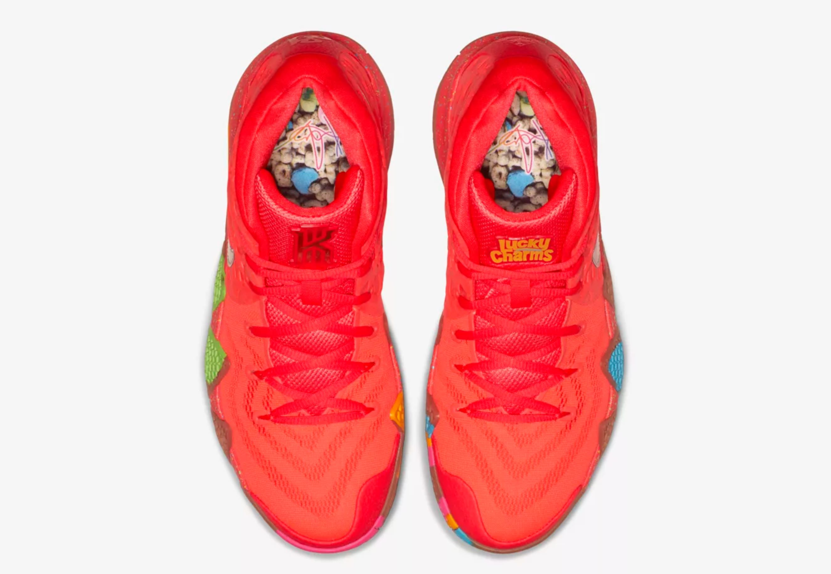 3d73f519c6c2 nike kyrie 4 lucky charms insoles - WearTesters