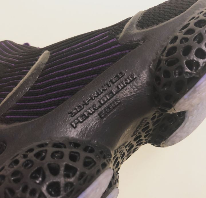peak 3d printed basketball sneaker knit