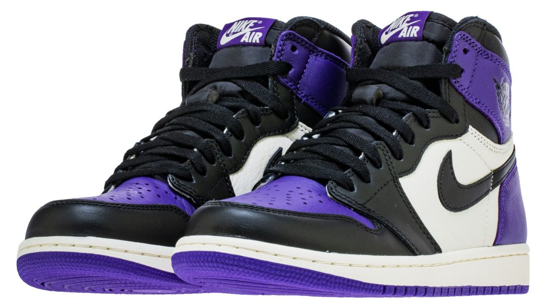 buy popular 00727 d4cf1 Official Images of the Air Jordan 1  Court Purple  Reveal GS Release ...