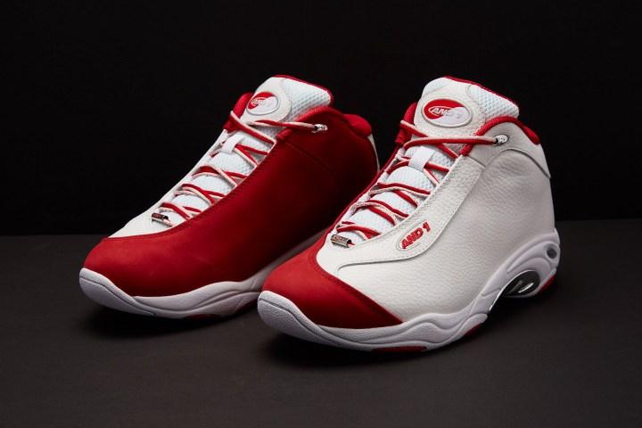 AND1 Tai Chi white red