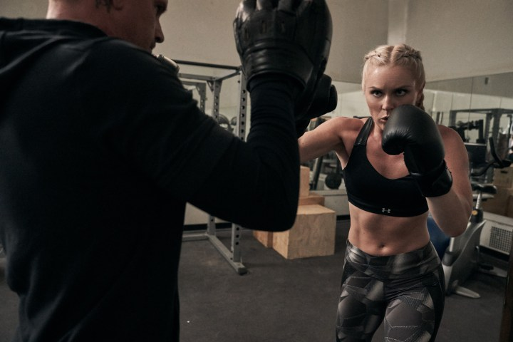 Under Armour will makes us family lindsey vonn