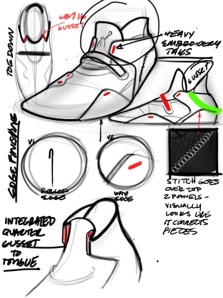 air jordan 33 design sketch tate kuebris