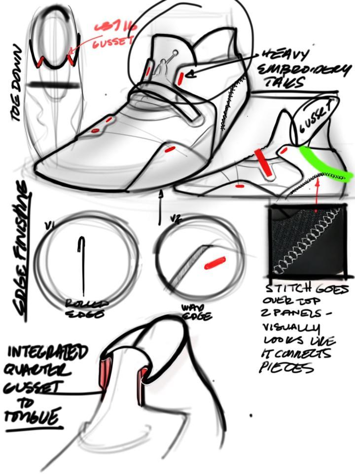 air jordan 33 design sketch tate kuebris