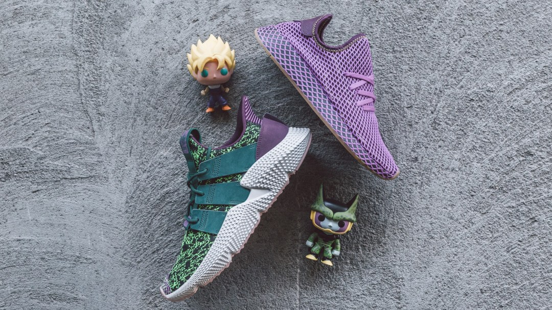dragon ball z adidas son gohan cell
