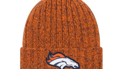 new era nfl cold weather collection knits broncos