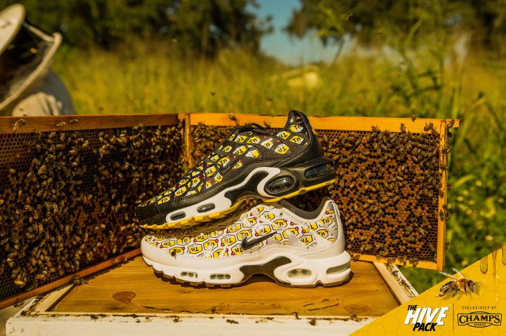 610d9d4ffeb The Nike Air Max Plus  Hive Pack  is a Champs Sports Exclusive ...