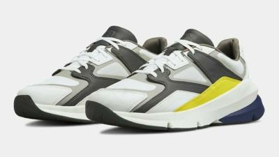 under armour forge 96 track yellow grey
