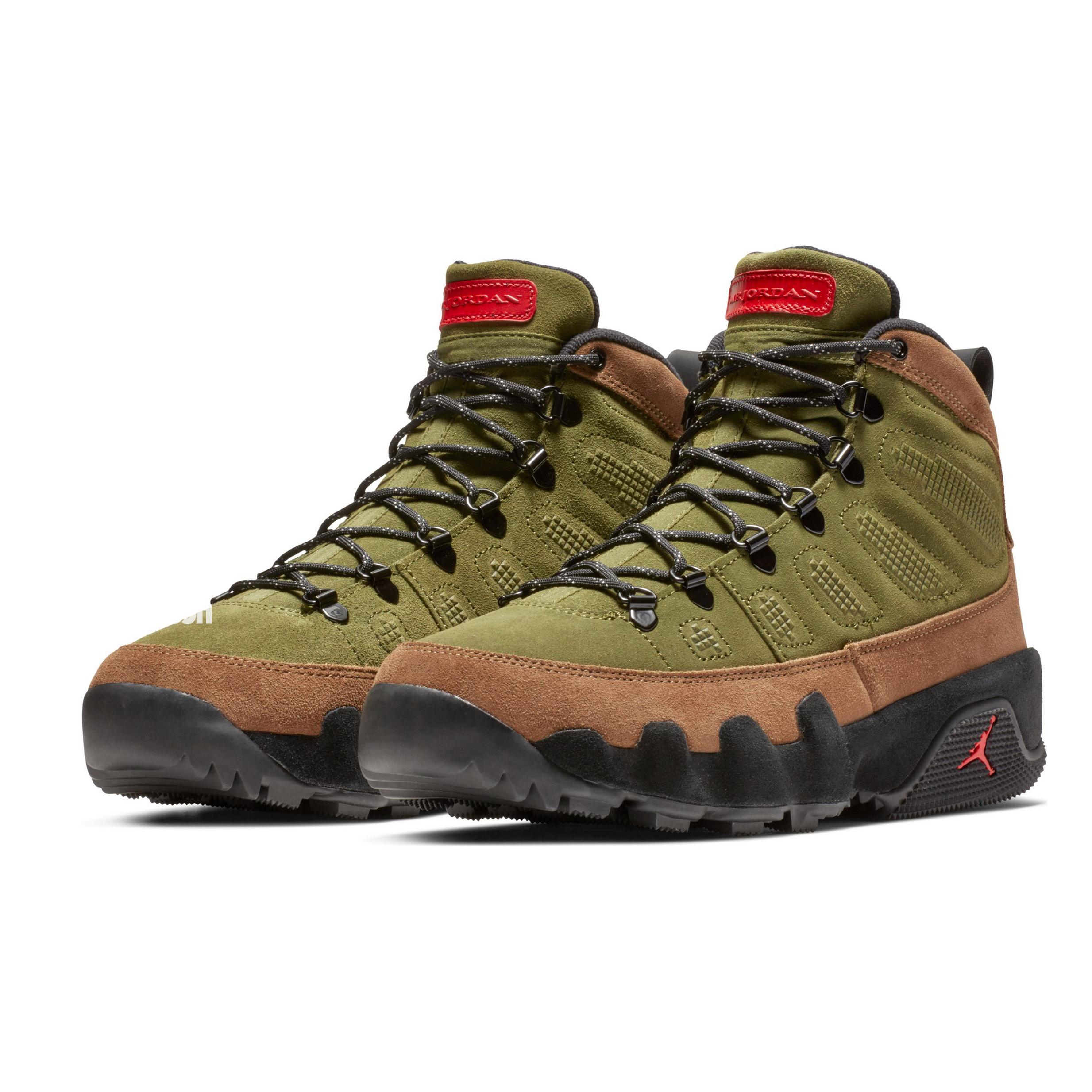 fa593569e71ff1 Air jordan 9 boot NRG olive - WearTesters