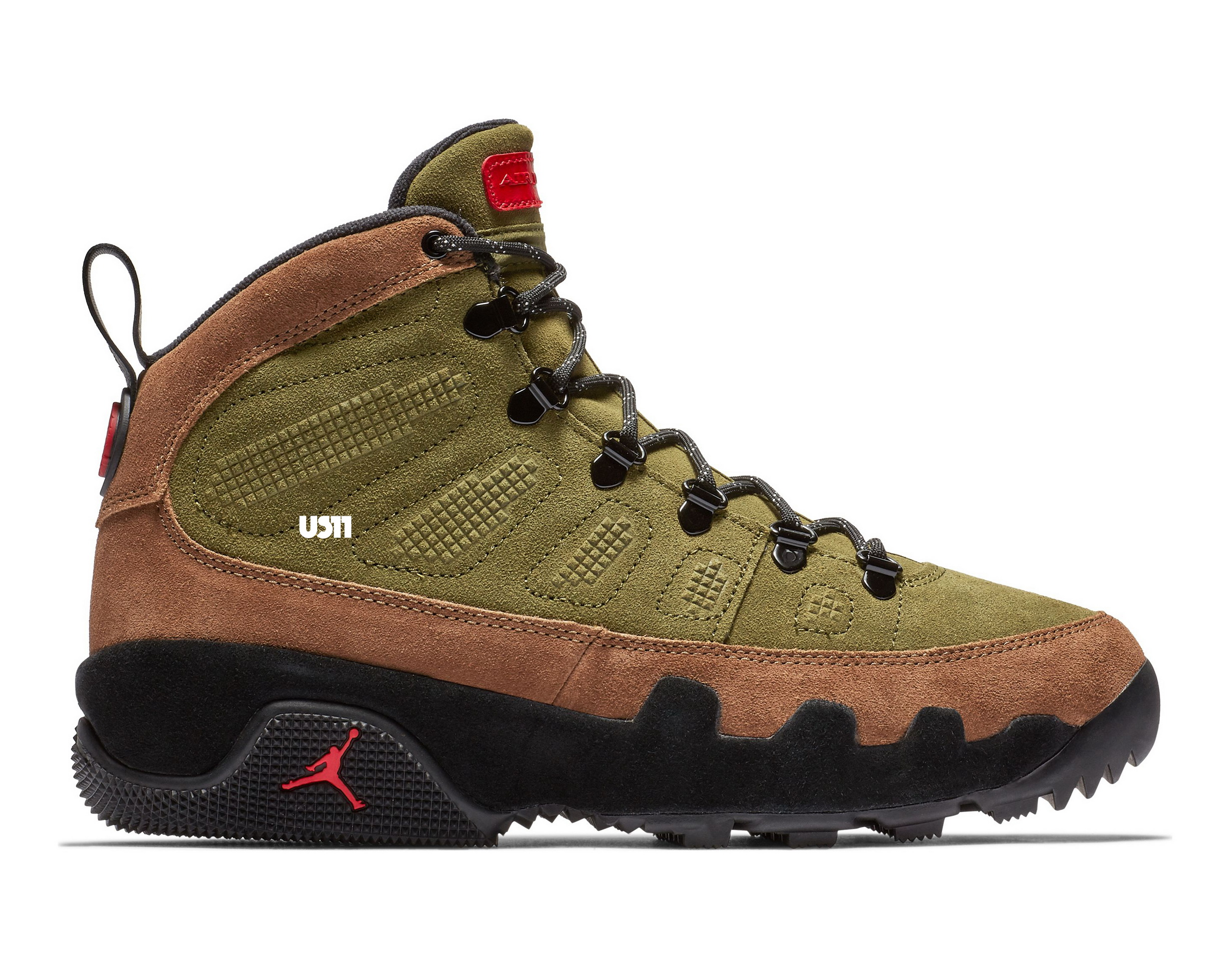 9d342f53dd3f0f Prep for Winter with the Air Jordan 9 Boot NRG  Olive  - WearTesters