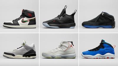 Jordan Brand holiday 2018 releases