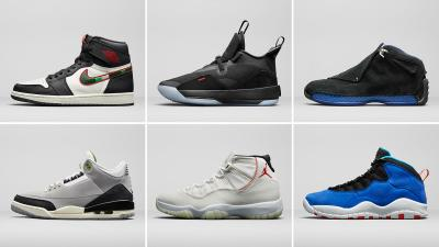 Jordan Brand holiday 2018 releases