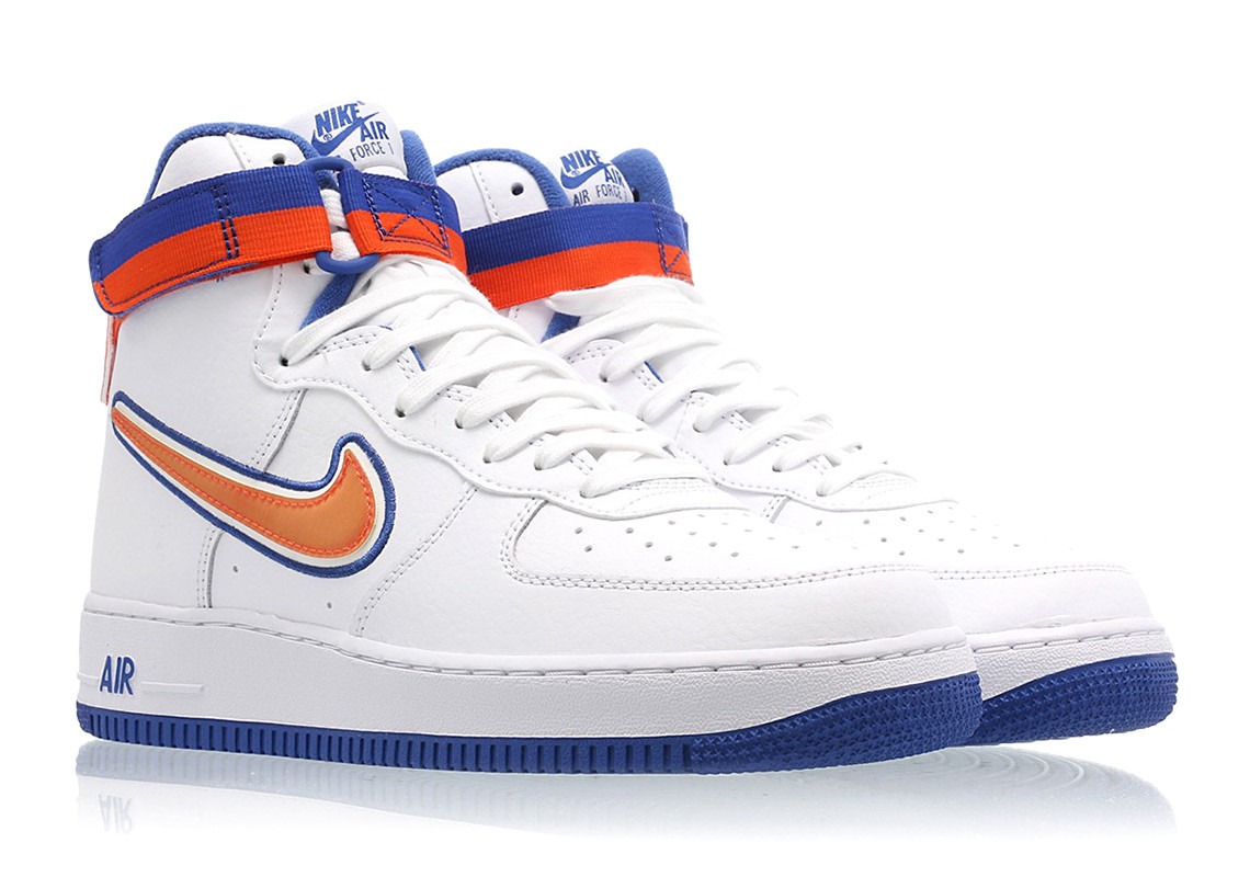 this new york knicks inspired nike air force 1 39 07 drops. Black Bedroom Furniture Sets. Home Design Ideas