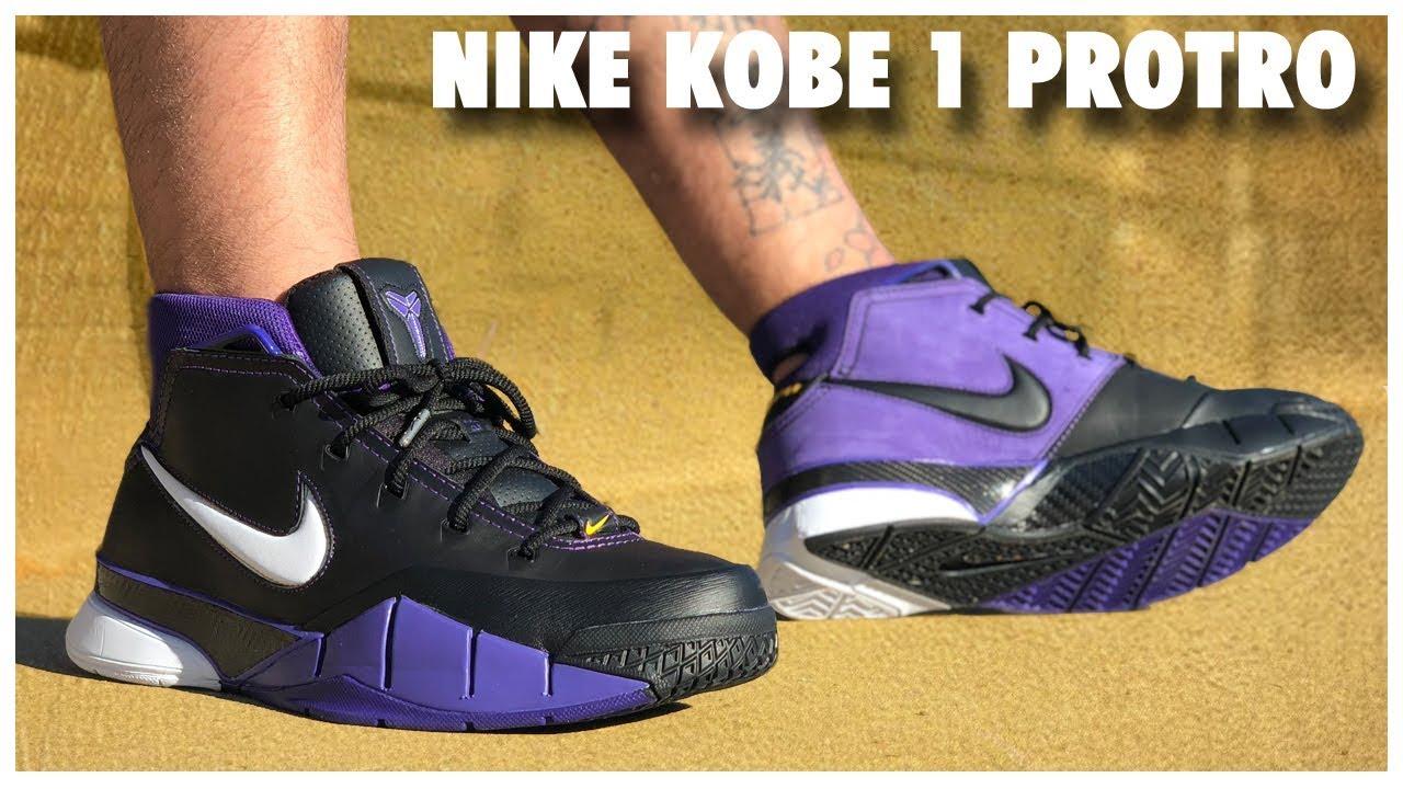 02d4fe1526e0 Nike Kobe 1 Protro  Court Purple