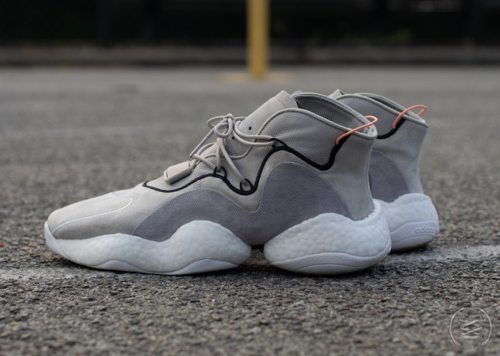 1f3ab95e33ab Test Shoot  adidas Crazy BYW  Sesame  Finish Line Exclusive ...