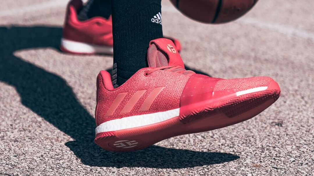 4da20657a5c James Harden s adidas Harden Vol 3 Has Dropped in Rockets Colors ...