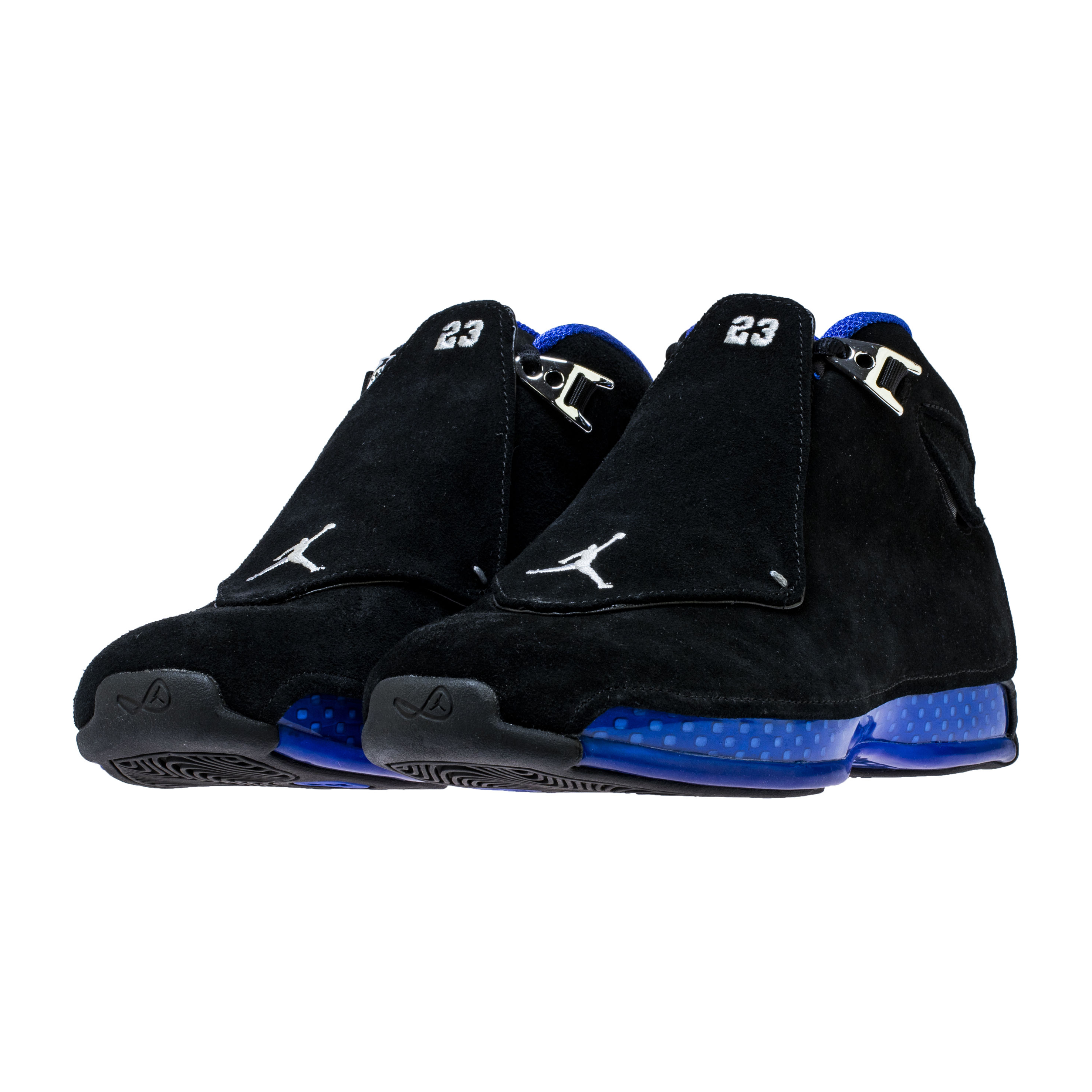 1feb27d9acea ... clearance the air jordan 18 black sport royal release date has been  moved up 0e10c 3dbaf