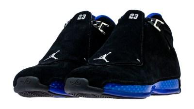 air jordan 18 black sport royal release date