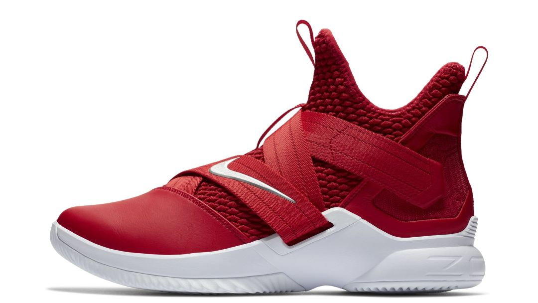 check out 45a7d fb486 lebron soldier 12 red