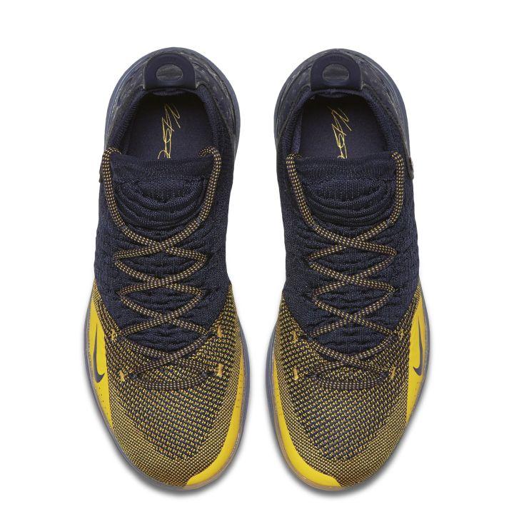 3c1a77b5e4de42 Nike Kd 11 Black Gold Kevin Durant Basketball Shoes 2018 Nike Zoom