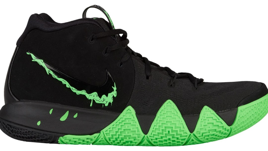 429724e061b Kyrie Irving s Kyrie 4  Rage Green  for Halloween is Available Now ...
