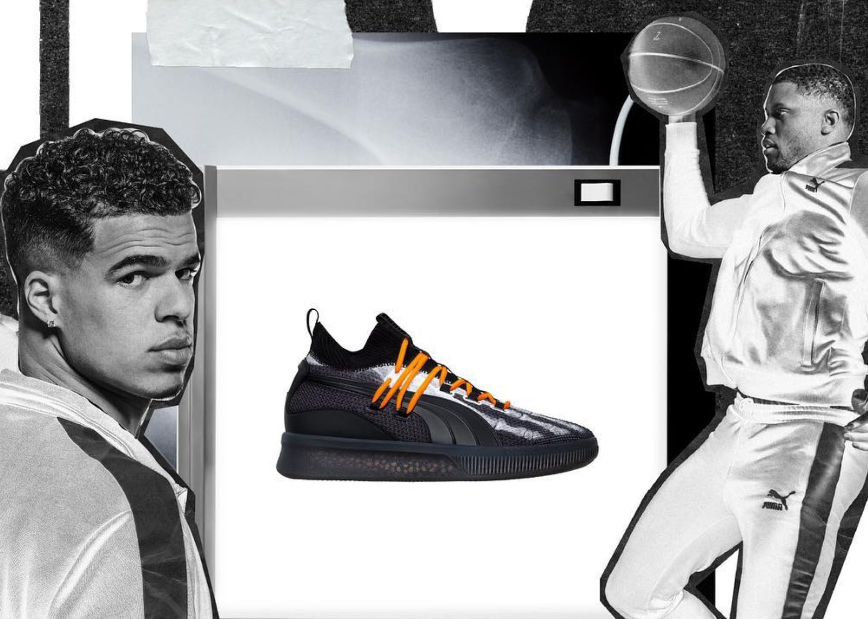 puma clyde court disrupt xray halloween - WearTesters 50ef63893