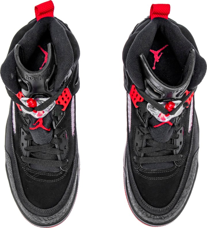 acd9d7c9029f If you like what you see then you can find this  Bred  Jordan Spiz Ike  available now at ShoePalace.com.